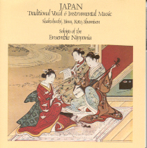 Ensemble Nipponia - Japan Traditional Vocal and Instrumental Music