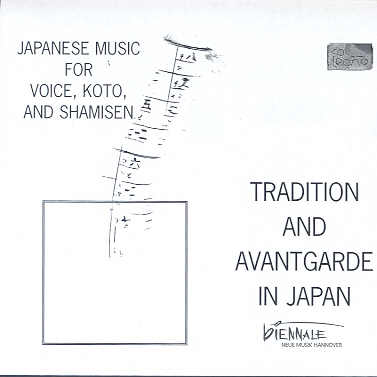 Tradition and Avantgarde in Japan